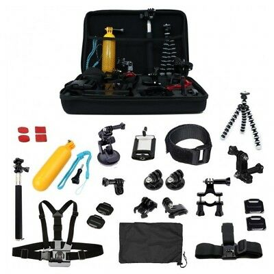 Accessory Bundle for GoPro HERO5 Kit - Case, Straps, Grip, Mounts, Tripod & More