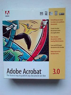 Adobe Acrobat 3.0 for PC and Mac