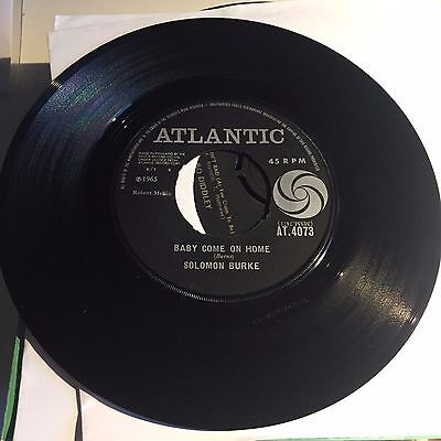 Solomon Burke - Baby Come On Home / I Can't Stop Loving on British Atlantic Soul