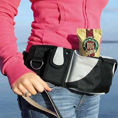 Baggy Belt For Dog Walking Treat Holder Bum Bag Hip Belt Additional Pockets