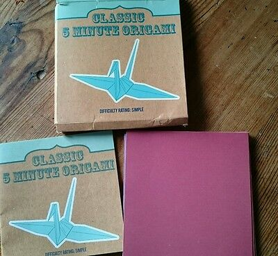 classic 5 minute origami book and paper stocking filler