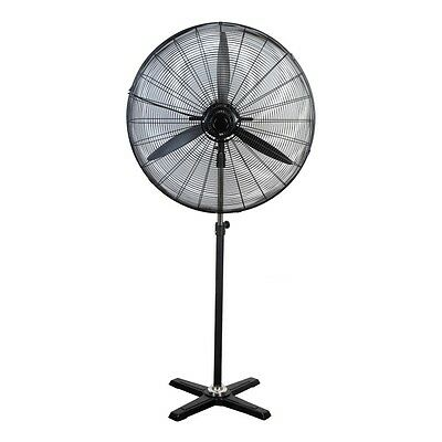 Heller 75cm Industrial High Velocity Pedestal Fan and 3 Speed setting