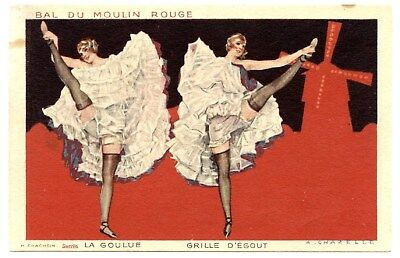 La Goulue.grille D'égout.danseuse De Cancan Populaire Du  Moulin Rouge A Paris