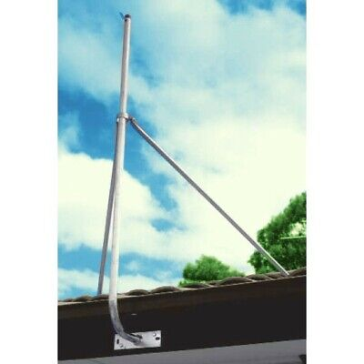 2X4' Stay Bar With Collar 1.2M Support For Mast Fascia Brkt