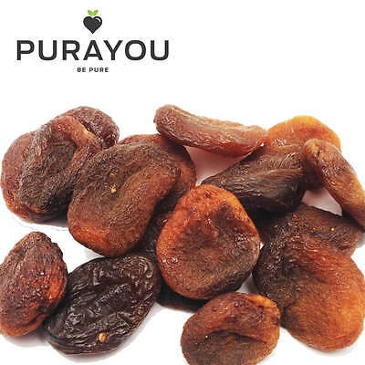 Sun Dried Pitted Unsulphured Apricots - Soft, Sweet, Healthy - 375g, 750g