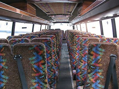 70 Cogent High Back Seats with Seatbelts