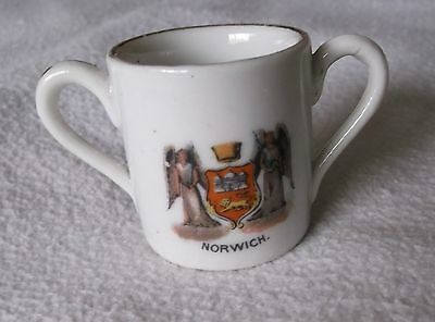 Vintage Small Crested (Norwich) Loving Cup