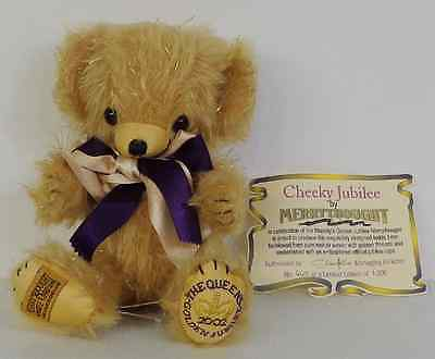 Merrythought Cheeky Jubilee Bear Limited Edition