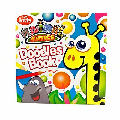 Animal Antics Child Kids Art and Craft Toddlers Doodles Colouring Drawing Book