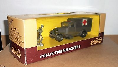 Solido Military Collection 1 C4 Ambulance Boxed No 6020
