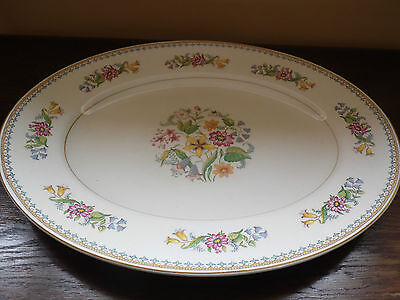 John Maddock & Sons small bread plate small platter  Floral very pretty VGC