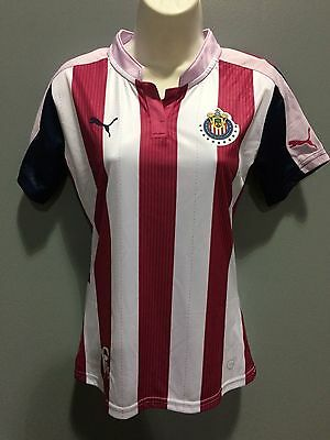 los angeles 28970 0f70d CHIVAS PINK WOMAN jersey 2016-2017 puma authentic pink proyect
