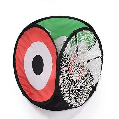 New Arrival Golf Practice Net Folding Multipurpose 3 Sides Chipping Training Aid