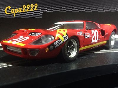 SLOT Fly Ford GT40  NEW (Run on SCX / NINCO / SCALEXTRIC / CARRERA)