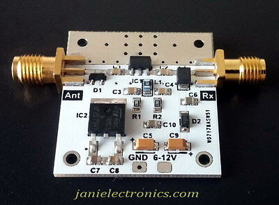 PGA103+ Ultra Low Noise Wideband LNA preamplifier RTL SDR HAM Radio