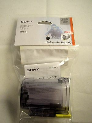 Genuine Sony Underwater Camcorder Housing (Clear) - MPK-AS3 - New! (MPKAS3)