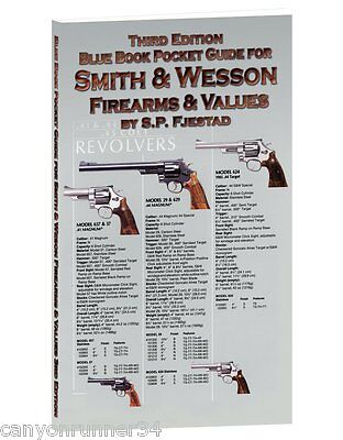 Blue Book Pocket Guide for Smith & Wesson Firearms & Value-Fjestad~NEW 2016!