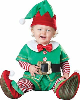 Baby Luxury Toddler Silly Elf Fancy Dress Christmas Costume 0-24 Months