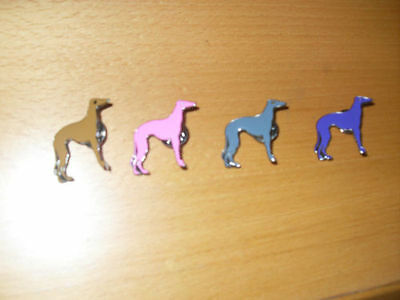 Enamel Greyhound Badge/brooch - 9 Colours - Support Tia