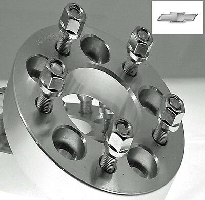 2 Pc Chevy S-10 5x4.75 Wheel Spacers 1.50 Inch # AP-5475C1215-2