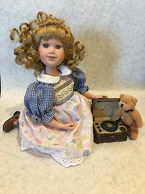 """Yesterday's Child Doll By Boyd Collectors Edtn. """"Andrea"""" W/Original Box"""