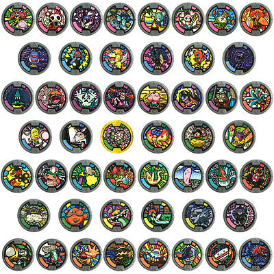 Yo-kai Watch Medal - Series 2 Complete set of 50 Medals
