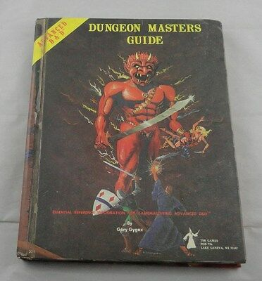 Advanced Dungeons & Dragons AD&D Dungeon Masters Guide (1979 - Efreeti) TSR2011