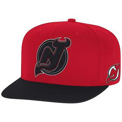 Reebok NHL New Jersey Devils Face Off Two Tone Snapback Cap