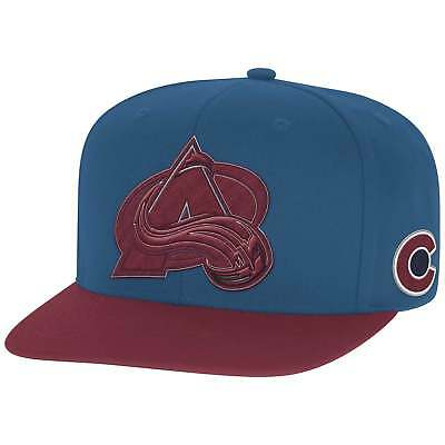 Reebok NHL Colorado Avalanche Face Off Two Tone Snapback Cap