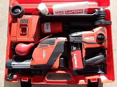 Hilti Cordless TE6-A36 New with Extras