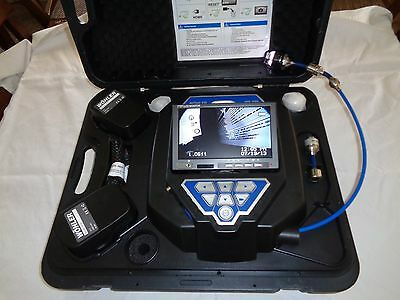 Wohler VIS 350 Video Inspection Camera w/ L 200 Locator and accessory kit