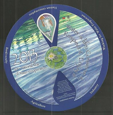South Africa 2013 Inter Year Of Water Minisheet Sg,ms2004 Un/mm Nh Lot 46L