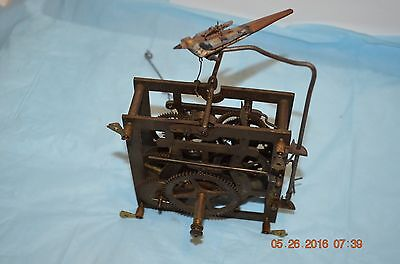 ANTIQUE CUCKOO CLOCK MOVEMENT for wall Cuckoo Clock with bird