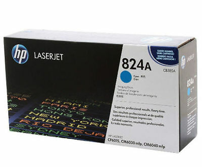 Genuine HP Factory Sealed HP CB385A Cyan Imaging Drum 824A New Black Packaging