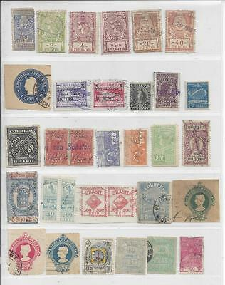 Central And South America Revenues Mint And Used - 5 Scans