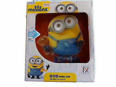 Bob (Despicable Me Minions) Minis 3D Wall Light