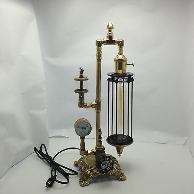 Industrial age  Victorian  Steampunk Style Skinny Desk Lamp Only L16-09
