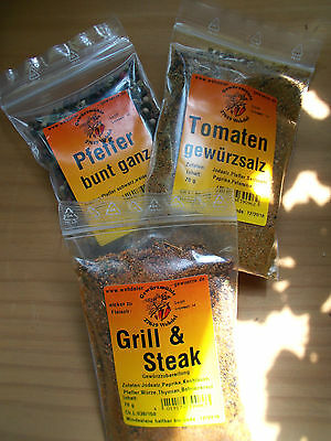 Spices for every Kitchen - Curry Pepper Paprika Spice Salt Spice Mixes