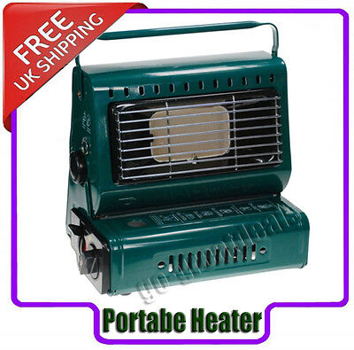 Portable Gas Heater Stove Patio Fishing Camping Caravan