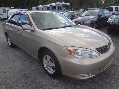 2002 Toyota Camry Leather 2002 STUNNING CAMRY LE SEDAN~LEATHER~SPOILER~WOOD TRIM~PWR SEAT~1 OF THE NICEST