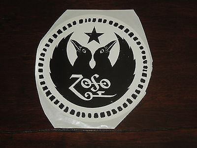 2000 The Black Crowes & Jimmy Page Zoso Sticker The 2000 Tour Single Sticker