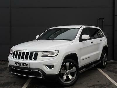Jeep Grand Cherokee 3.0 Crd Limited Plus 5Dr Auto - Whi