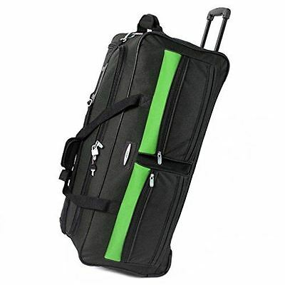 Jeep 31'' Wheeled Holdall Travel Cargo Duffle Bag Suitcase Trolley Bag