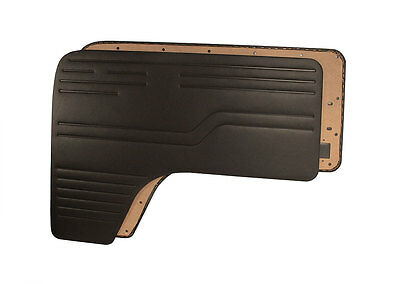 Black Front Door Cards VW T2 Bay 1967-1979