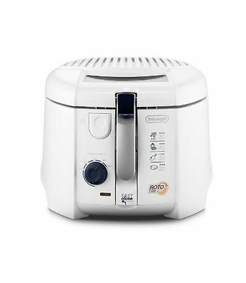 Delonghi F28311 RotoFry Electric Deep Fat Fryer With Easy Clean System