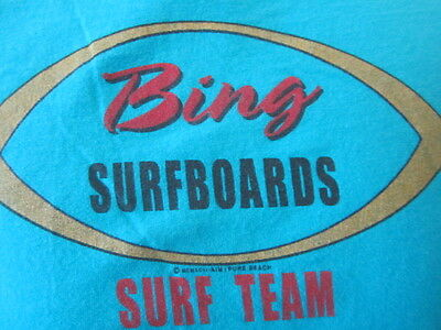 Pre Owned Bing Surfboards Surf Team  T-Shirt