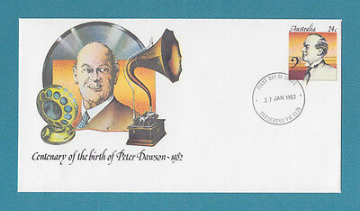1982 Birth Centenary of Peter Dawson PSE - Dandenong VIC 3175 pmk