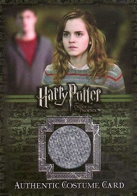 Harry Potter Order of the Pheonix Hermione Granger's Jumper Ci1 Costume Card