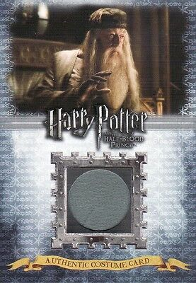 Harry Potter Half Blood Prince Albus Dumbledore C7 Costume Card