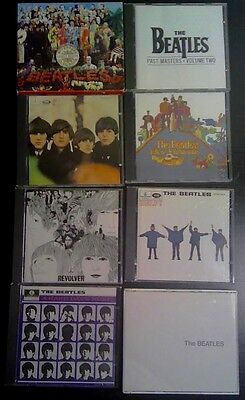 Beatles CD collection - 8 Albums Mostly 1960s CDs
